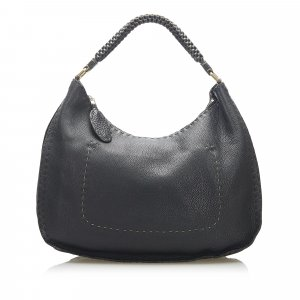 Fendi Selleria Leather Shoulder Bag
