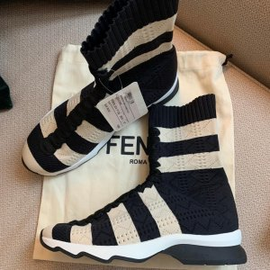 Fendi Sneakers - Black Cream