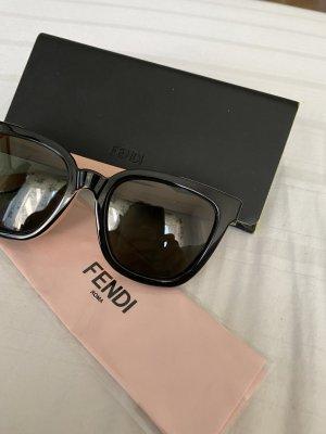 Fendi Glasses black-rose-gold-coloured