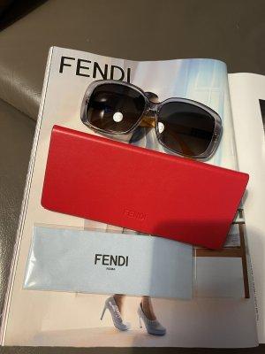 Fendi Bril lichtgrijs-sleutelbloem