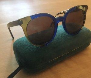 Fendi Butterfly bril blauw-bruin