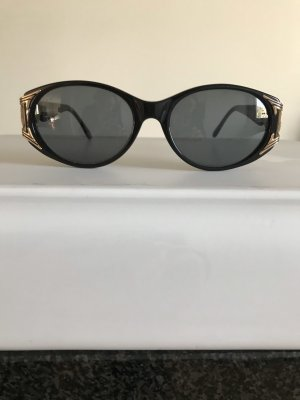 Fendi Retro Glasses black-gold-colored