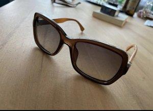 Fendi Gafas de sol cuadradas naranja oscuro-marrón
