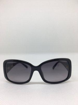 Fendi Hoekige zonnebril zwart
