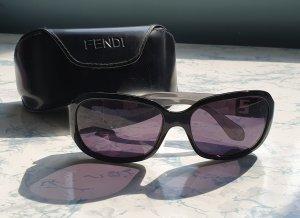 Fendi Vierkante bril zwart-antraciet