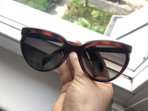 Fendi Butterfly bril donkerbruin-bruin