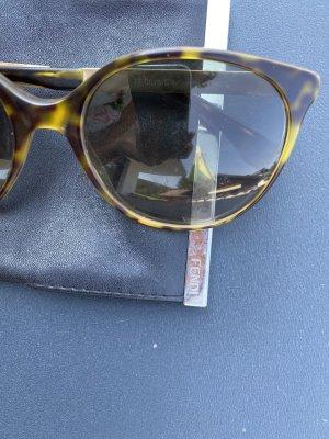 Fendi Butterfly Glasses black brown mixture fibre