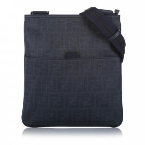 Fendi Spalmati Zucca Crossbody Bag