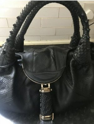 Fendi Spy Bag, black leather