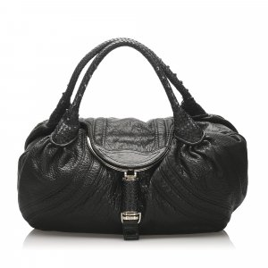 Fendi Spy Leather Handbag