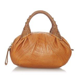Fendi Spy Mini Leather Handbag