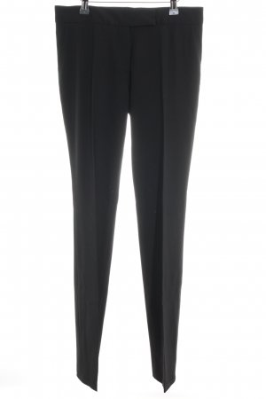 Fendi Stoffhose schwarz Business-Look