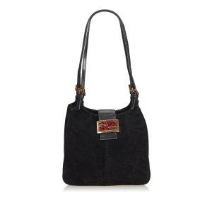 Fendi Suede Mamma Shoulder Bag