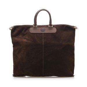 Fendi Suede Tote Bag