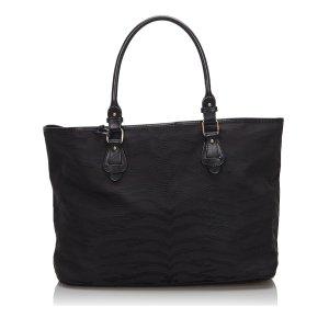 Fendi Tiger Print Canvas Handbag