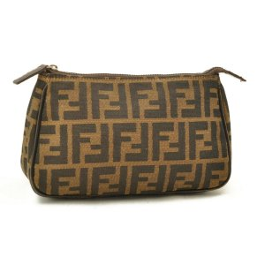 Fendi ucca Canvas Pouch