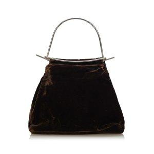 Fendi Velour Handbag