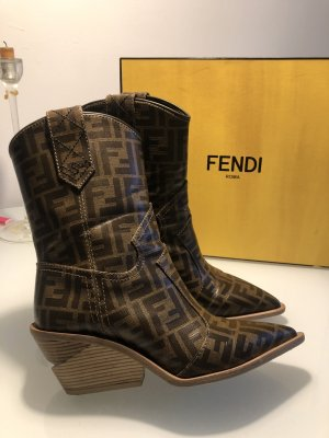 Fendi Western Cowboy Stiefel Stiefeletten Mytheresa