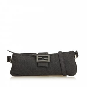 Fendi Wool Crossbody Bag