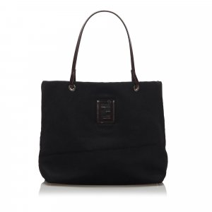 Fendi Wool Tote Bag