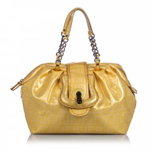 Fendi Shoulder Bag yellow