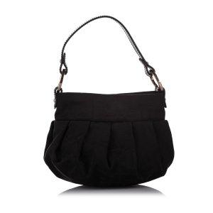 Fendi Zucca Canvas Mini Chef Handbag