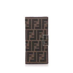 Fendi Zucca Canvas Wallet