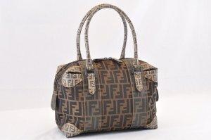 Fendi Zucca Hand Bag