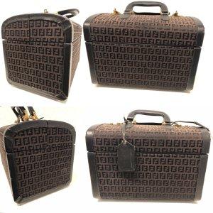 Fendi Zucca Kosmetik Koffer Original Vintage 60er -70er Jahre Rarität