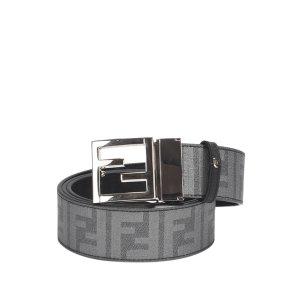 Fendi Zucca Leather Belt