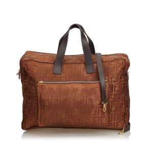 Fendi Zucca Nylon Travel Bag