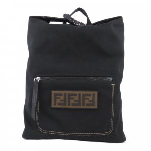 Fendi Zucca Santander Canvas Backpack