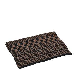 Fendi Scarf brown wool