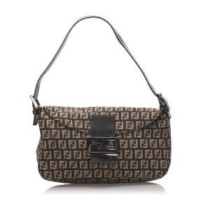 Fendi Shoulder Bag dark brown