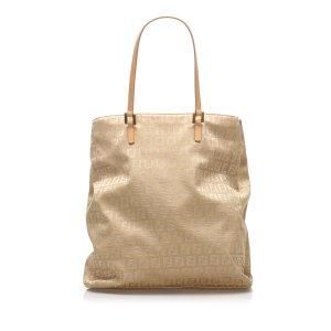 Fendi Zucchino Canvas Tote Bag