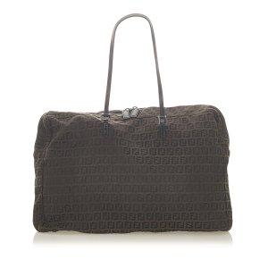 Fendi Travel Bag dark brown