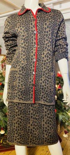 Fendi Kostium ciemnobrązowy-brązowy