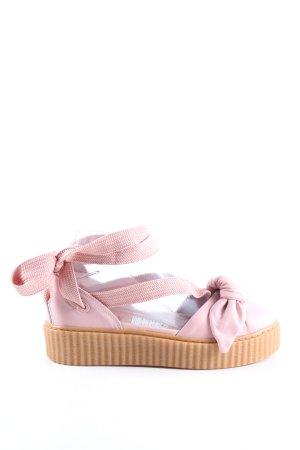 Fenty Puma Platform High-Heeled Sandal pink-nude casual look