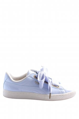 Fenty Puma Lace Shoes lilac athletic style