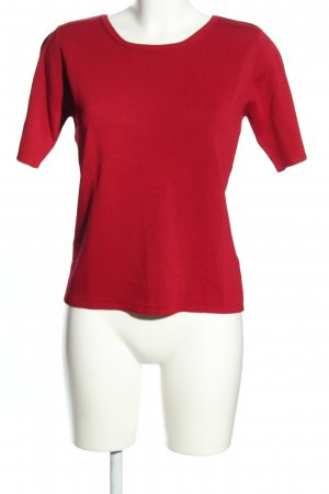 Féraud Club Short Sleeve Sweater red casual look