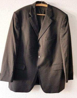 Féraud Pantalon de costume gris foncé laine vierge