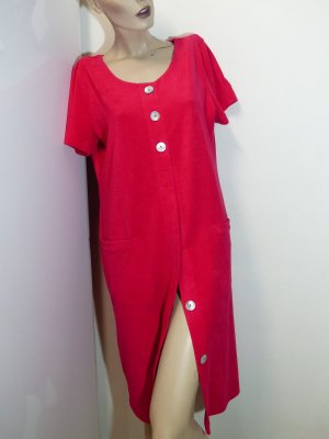Féraud House-Frock red cotton
