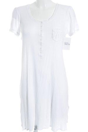 Féraud Pyjama weiß Streifenmuster klassischer Stil