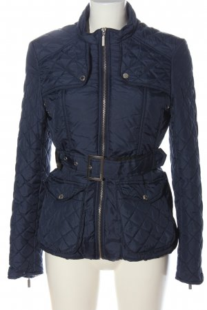 Féraud Quilted Jacket blue quilting pattern casual look
