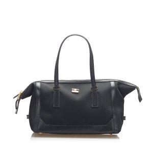 Ferragamo Canvas Handbag