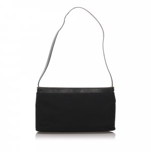 Ferragamo Canvas Shoulder Bag