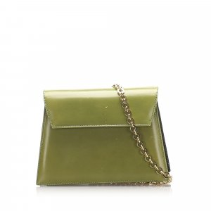 Ferragamo Chain Leather Crossbody Bag