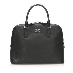 Ferragamo Darina Leather Handbag
