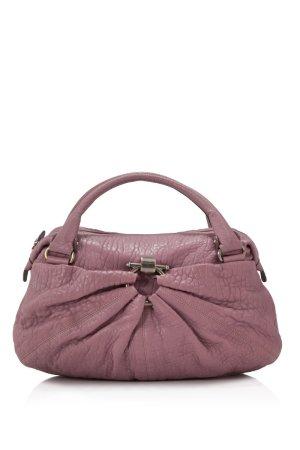 Ferragamo Embossed Leather Handbag