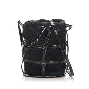 Ferragamo Fabric Crossbody Bag